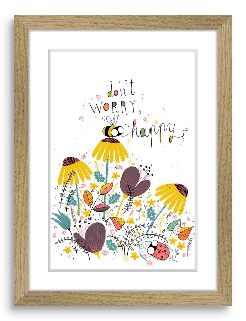 Don't -Worry-Bee-Happy-svetel-okvir