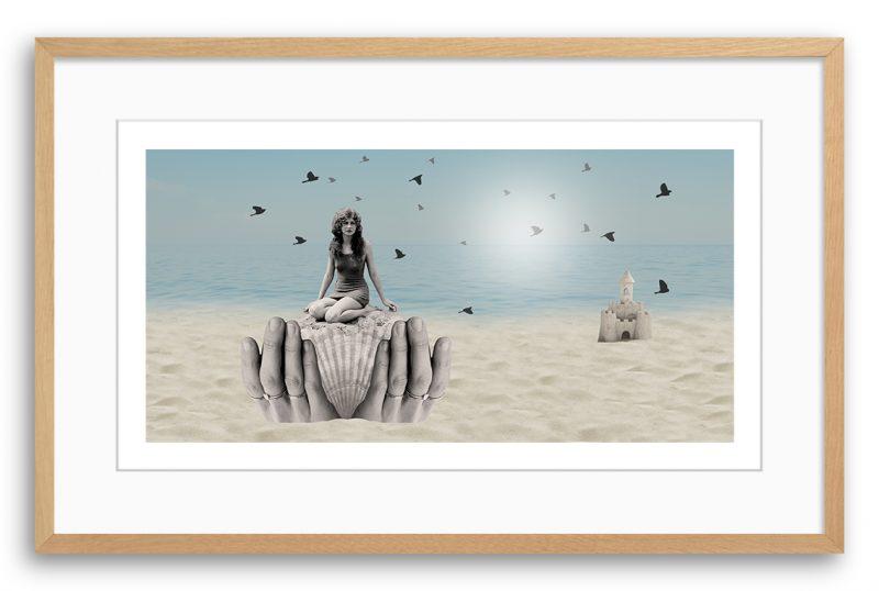 Maruša Štibej, Peščeni grad mojih misli, uokvirjen odtis